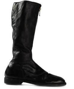 GUIDI | Front Zip Boots Size