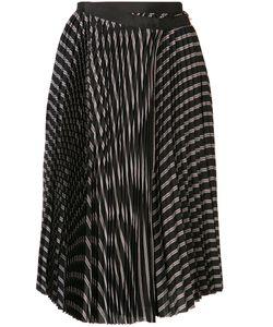 Sacai | Pleated Wrap Skirt 2