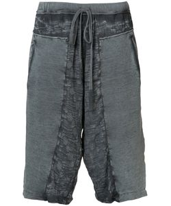 Lost & Found Rooms | Distressed Track Shorts Size Medium