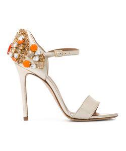 Marc Ellis | Embellished Heel Sandals