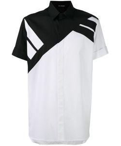 Neil Barrett | Рубашка В Полоску С Короткими Рукавами