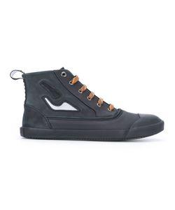 Lanvin | Paneled Hi-Top Sneakers Size 9