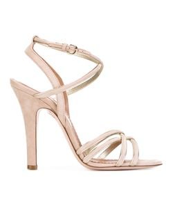 Red Valentino | Strappy Heeled Sandals 36.5 Leather