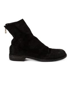 GUIDI | Ankle Length Boots 44 Calf Suede/Leather