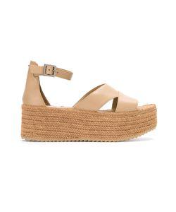Sarah Chofakian | Leather Flatform Sandals