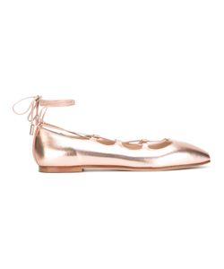 Anna Baiguera | Lace-Up Ballerina Flats Size 40