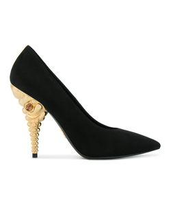 Prada | Декорированные Туфли-Лодочки