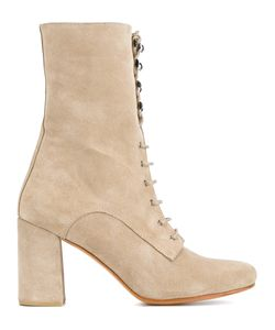 Maryam Nassir Zadeh | Chunky Heel Boots 39.5 Suede/Leather