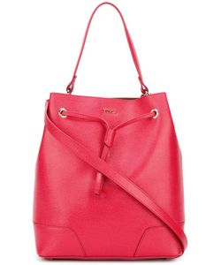 Furla | Drawstring Bucket Tote Leather