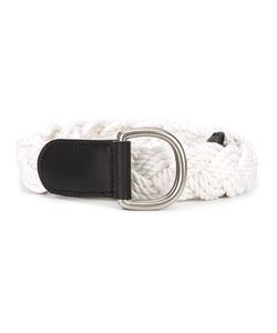 Thom Browne | Braided Belt Cotton/Leather