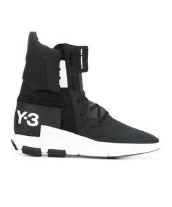 Y-3 | Logo Print Hi-Tops 12