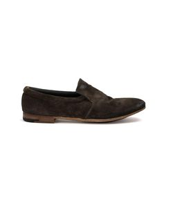 Premiata | Pointed Toe Loafers 8 Leather/Suede/Rubber