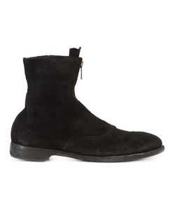 GUIDI | Front Zip Army Boots Size 45