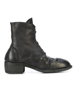 GUIDI | Lace-Up Boots Women 37