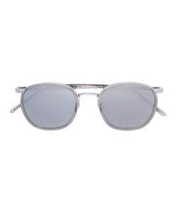 Linda Farrow | Rimless Thin Frame Sunglasses Acetate/