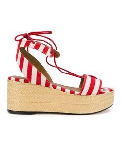 Sonia Rykiel | Striped Platform Sandals Size 37
