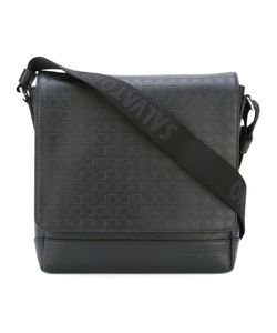 Salvatore Ferragamo | Gancio Embossed Messenger Bag Calf