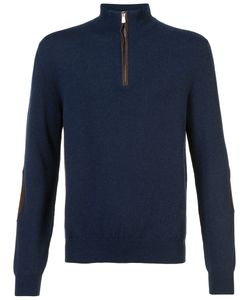 Isaia | Zip Jumper Men L