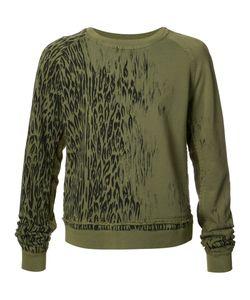 Haider Ackermann | Animal Print Sweatshirt Medium Cotton