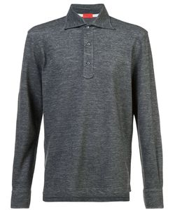 Isaia | Long-Sleeve Polo Shirt Men L