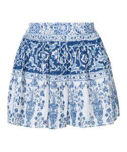 Sea | Micro Pleated Porcelain Shorts 4 Cotton