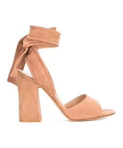 Gianvito Rossi | Ankle Tie Sandals 36.5 Leather/Suede