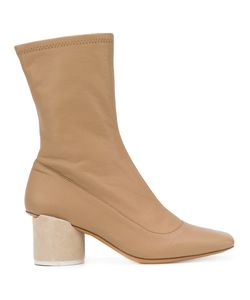 JACQUEMUS | Square Toe Ankle Boots Size 37