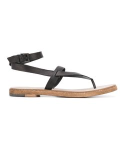 Roberto Del Carlo | Ankle Strap Flip Flops Size 38