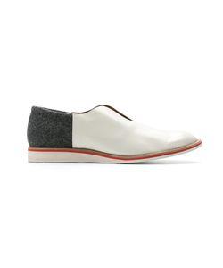 Sarah Chofakian | Leather Laceless Shoes Size 35