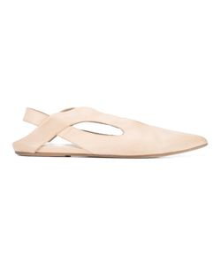 Marsell | Marsèll Pointed Slingback Slipper Size 39.5