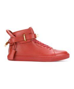 Buscemi | Buckled Hi-Top Sneakers