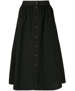 Tomas Maier   Button Front Midi Skirt Size