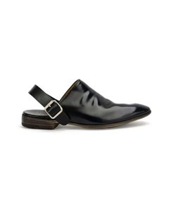 Premiata | Buckled Sling-Back Sandals 7 Calf Leather/Leather/Brass/Leather