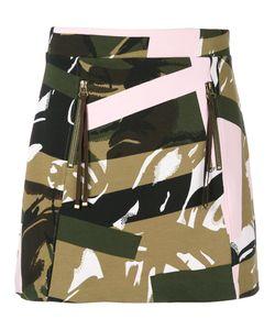Kenzo | Camouflage Print Skirt L