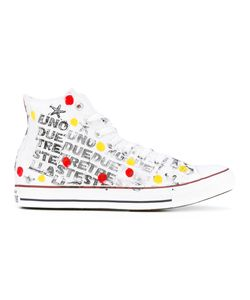Converse | Spotted Hi-Top Sneakers 45