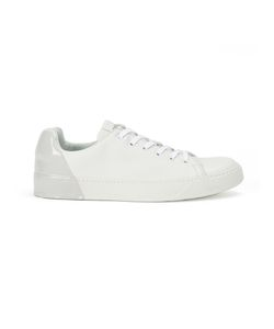 PREMIATA WHITE | Varnished Detail Sneakers 6 Calf Leather/Rubber/Leather