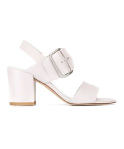 Stuart Weitzman | City Sandals 37.5 Nappa Leather/Leather