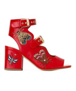 Laurence Dacade | Beaded Insects Sandals 38 Leather