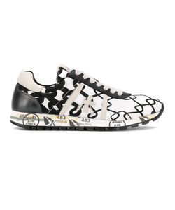 PREMIATA WHITE | Printed Lucy Sneakers