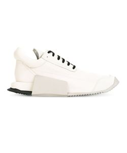 RICK OWENS X ADIDAS | Adidas By Rick Owens Lace-Up Sneakers 43 Leather/Rubber