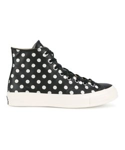 Converse | Polka-Dot Chuck Taylor Sneakers 6 Leather/Rubber