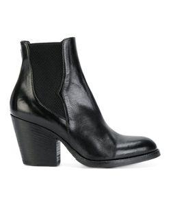 Pantanetti | Ботинки На Каблуке В Стиле Вестерн