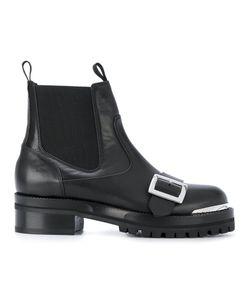 Alexander McQueen | Ботинки С Пряжкой Спереди