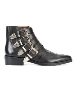 Toga | Buckled Boots 41 Leather/Metal Other