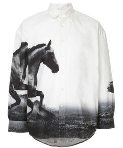 Yoshio Kubo | Printed Horses Shirt Men
