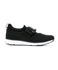 Hogan | Crystal-Embellished Sneakers Size 37