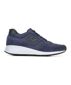 Hogan | Lace Up Trainers 7.5 Suede/Polyester/Rubber