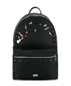 Dolce & Gabbana | Music Embellished Backpack Nylon/Metal