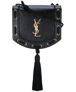 Saint Laurent | Woven Tassel Crossbody Bag