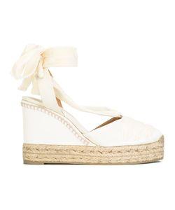 Castañer   Cersei Sandals 35 Cotton/Silk Satin/Leather/Rubber